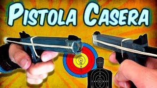 getlinkyoutube.com-Como Hacer una Mini Pistola Casera Usando Palitos de Helado