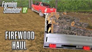 getlinkyoutube.com-Farming Simulator 2017   FIREWOOD HAUL   Wexcombe Manor Farm   Episode 24