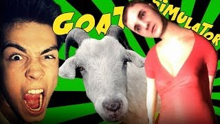 getlinkyoutube.com-HANKA SZALEJE! - GOAT SIMULATOR!