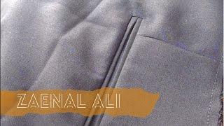 getlinkyoutube.com-Mudahnya menjahit Celana (Bagian 3: membuat saku Belakang)