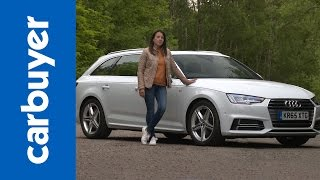getlinkyoutube.com-Audi A4 Avant estate 2016 review - Carbuyer
