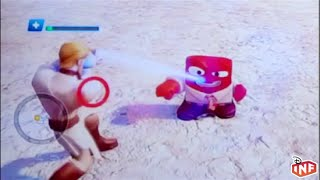 Disney Infinity 3.0 toy box and Star Wars Toys R Us instore demo gameplay