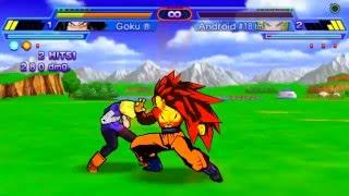 getlinkyoutube.com-Dragon Ball Z Shin Budokai Another Road | Gameplay #1 HD