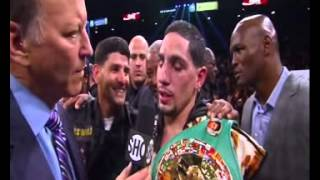 Danny Garcia beats Matthysse interview