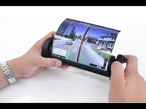 Канадці представили гнучкий сенсорний екран