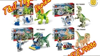 getlinkyoutube.com-เลโก้จีนรีวิว Jurassic World LELE No.79086 By.T&J ToyS Review
