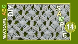 getlinkyoutube.com-Macrame ABC - pattern sample #14