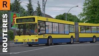 getlinkyoutube.com-OMSI 2 - Belgrade - Line 15: Zemun Novi Grad - Zeleni Venac