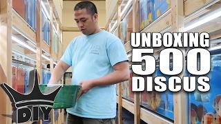 getlinkyoutube.com-UNBOXING 500 DISCUS aquarium fish!!!
