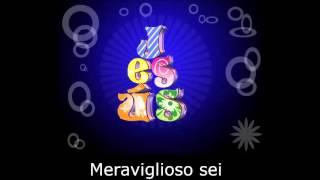 getlinkyoutube.com-Meraviglioso sei canto evangelico Karaoke
