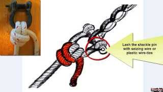 getlinkyoutube.com-How to Sail a Sailboat - Tie the Powerful Anchor Hitch Fast!