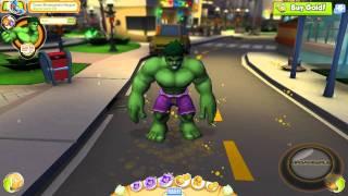 getlinkyoutube.com-Marvel Super Hero Squad Online Power Emotes- HD