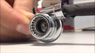 getlinkyoutube.com-Ball Bearing Turbo Keychain KCT-11BB2