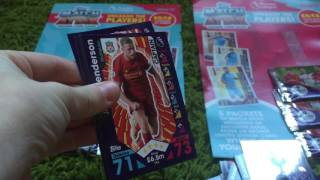 getlinkyoutube.com-Match Attax 2 x Multi-Pack Opening Battle - Richard v Jack with 2 100 Clubs and 2 LEs!!