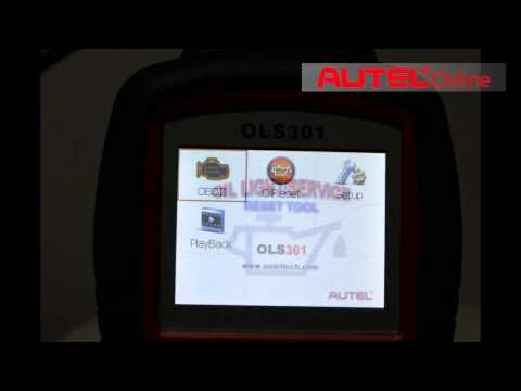 Autel MaxiService OLS301 Oil Light and Service Reset auto diagnostic Tool