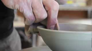 getlinkyoutube.com-陶芸家|井上次郎「初心者でも出来る茶碗の作り方」