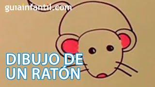 getlinkyoutube.com-Aprende a dibujar un ratón paso a paso con los niños