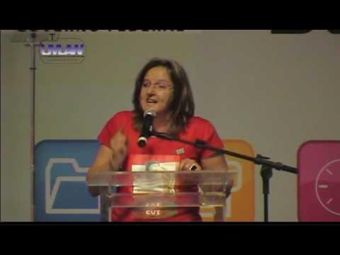 Rosana Bertoti - Secretária de comunicação da CUT na Confecom
