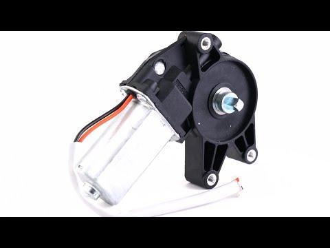 Мотор стеклоподъемника правый ZD13433