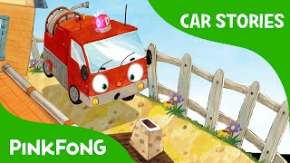 getlinkyoutube.com-Mini Pumper Saves the Day! | Fire Truck | Car Stories | PINKFONG Story Time for Children