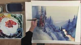getlinkyoutube.com-(Preview) Stephen Quiller's Painting Workshop: Atmosphere & Light in Watercolor