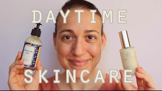 getlinkyoutube.com-Current Daytime Skincare Routine and Demo! Oily, Acne Prone Skin // Cruelty Free, Clean Beauty