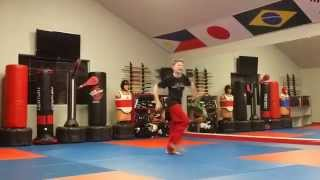 Amazing Martial Arts Prodigy! MUST WATCH! Noah Fort Extreme Weapons Tricks Demonstration