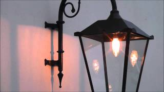 getlinkyoutube.com-Hanging Lantern Wall Light