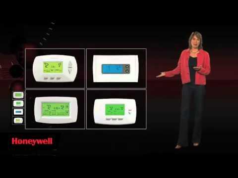 honeywell touchscreen thermostat installation manual