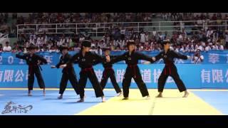 getlinkyoutube.com-龙拳小子《龙拳舞 杰克逊版》Dragon Boys Dangerous MJ 2015 浙江大众跆拳道公开赛