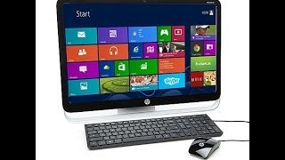 getlinkyoutube.com-HP TouchSmart 23in 4Core 8GB, 1TB AllinOne PC