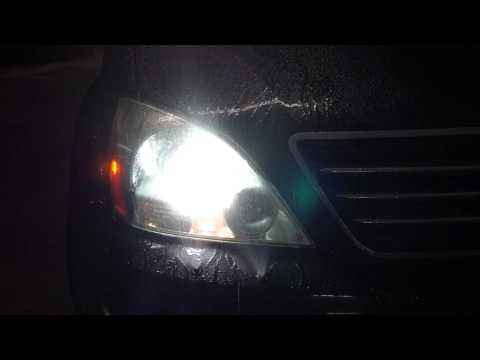Lexus GX470 headlamp washer Hella