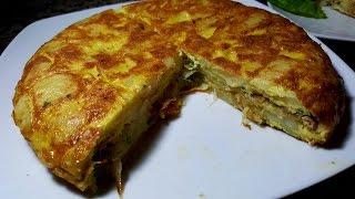 أكلة سهلة ولذيذة للعشاء/طورطية بالبطاطس بحشوة رائعة وسريعة لا تفوتكم