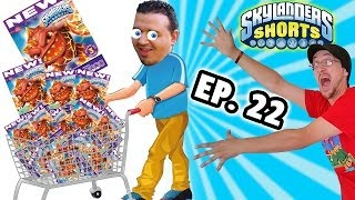 getlinkyoutube.com-Skylanders Shorts: Ep. 22 - Sold Out Fruit Snacks! (Betty Crocker Skylanders Gummies Skit)