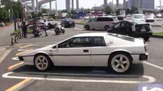 getlinkyoutube.com-【大黒PA】ロータス・ヨーロッパ & ロータス・エスプリ【Lotus Europa & Lotus Esprit】