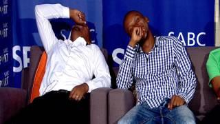 Shampoonizer entertains Thomas Mlambo and BBK