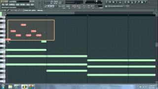 How To Make A Simple HipHop Piano Beat Fl Studio Fruity Loops Beginner Tutorial