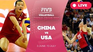 getlinkyoutube.com-China v United States - Group 1: 2016 FIVB Volleyball World Grand Prix