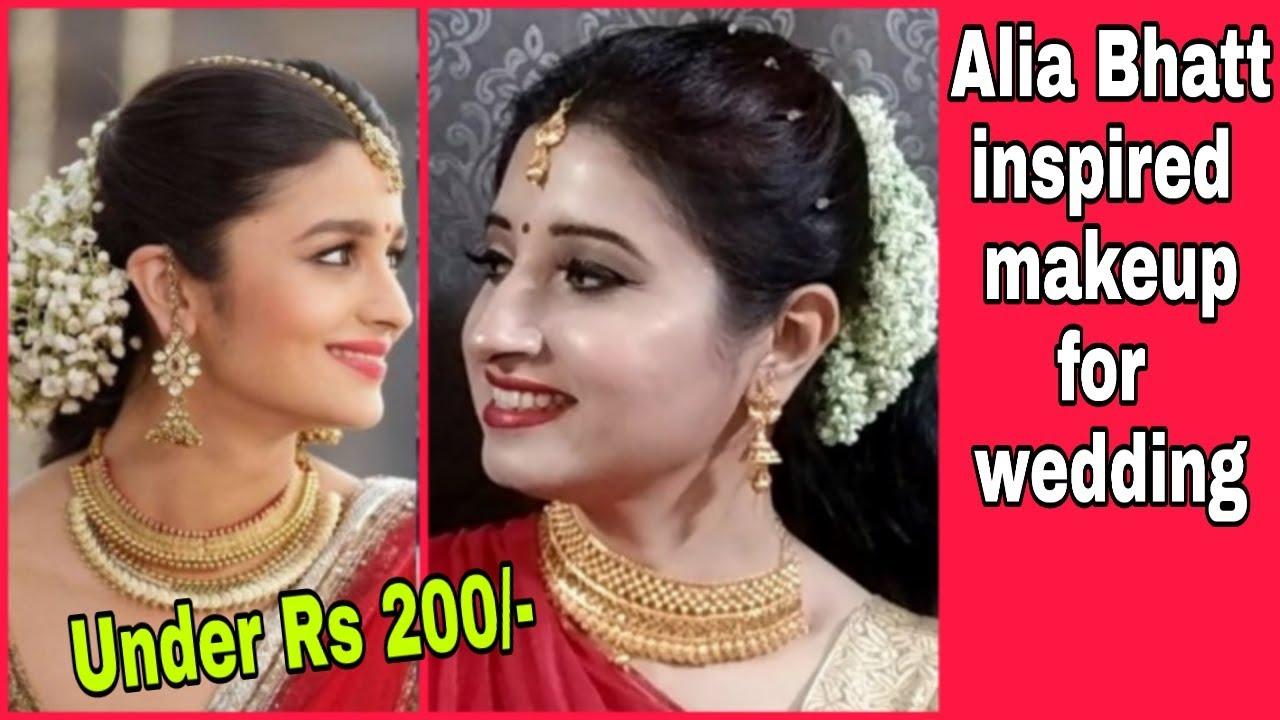 Download Thumbnail For Alia Bhatt Inspired Makeup Look Bridal