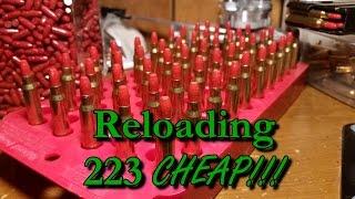 getlinkyoutube.com-How I'm Reloading 223 for $.10 Per Round | CountryBoyPrepper