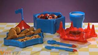 getlinkyoutube.com-Castle Dinner Set - Child's dinnerware that looks like a castle