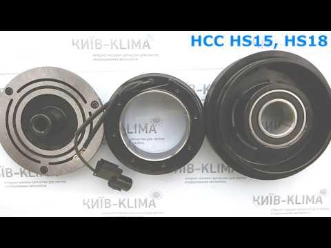 Шкив компрессора кондиционера Hyundai Santa Fe, Sonata 45646