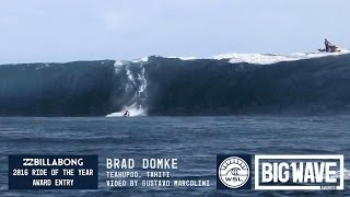 getlinkyoutube.com-Brad Domke at Teahupoo - 2016 Billabong Ride of the Year Entry - WSL Big Wave Awards