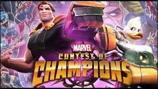 getlinkyoutube.com-Marvel Contest of Champions - Hyperion & Howard The Duck Update