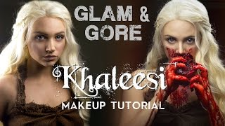 getlinkyoutube.com-Game of Thrones - Khaleesi / Daenerys Targaryen Makeup Look & Tutorial