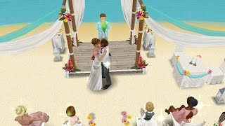 getlinkyoutube.com-LET'S PLAY SIMS FREEPLAY THE WEDDING (PART 3)