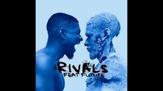 RIVALS - USHER FT  FUTURE karaoke version ( no vocal ) lyric