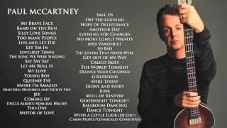 getlinkyoutube.com-Paul McCartney - The Best of Paul McCartney - 43 Great Songs (1970-2013)
