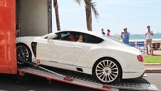 getlinkyoutube.com-Mansory Bentley Continental GT Delivery in Cannes