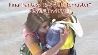 "getlinkyoutube.com-Final Fantasy X-2 ""HD Remaster"" - Perfect Ending Cutscenes and Credits {English, Full 1080p HD}"